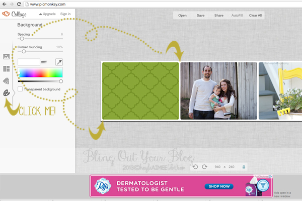 How To Make A Blog Header In PicMonkey, How To Add A Header To Your Blog, How To Design A Blog Header, How To Design A Blog Banner, How To Add A Header To Wordpress, Bling out your blog, how to start a blog, how to start a wordpress blog, How To Create A Blog Header In PicMonkey, How To Create A Blog Header In Photoshop, How To Make A Blog Header For Free